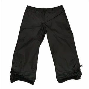 ISSEY MIYAKE 2 Hem Accordion Pleated Cropped Pants
